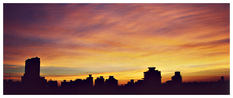"photo ""Wake Up Sao Paulo #02"" tags: landscape, travel, South America, sunset"