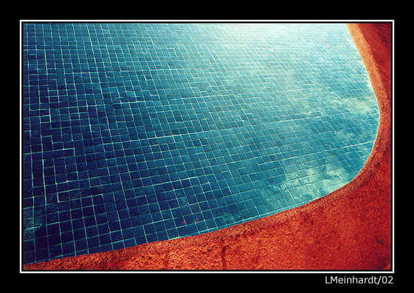 "photo ""Pool at Night"" tags: travel, abstract, North America"
