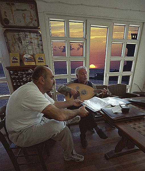"""фото """"Fishermens Club in Amasra"""" метки: путешествия, пейзаж, Азия, закат"""
