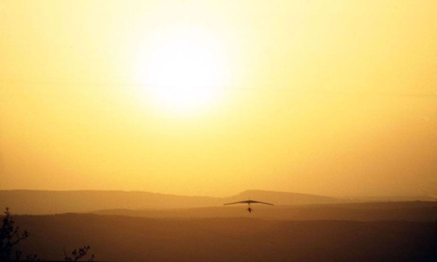 "photo ""Sunset flights"" tags: landscape, sunset"