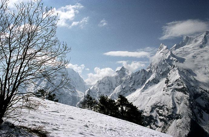 "photo ""White silence"" tags: landscape, mountains"