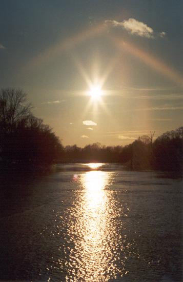 """фото """"Солнечная дорожка"""" метки: пейзаж, природа, вода"""
