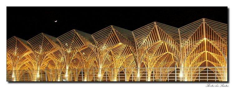 """photo """"Oriente Station at Parque das Nacoes - Lisboa"""" tags: architecture, landscape,"""