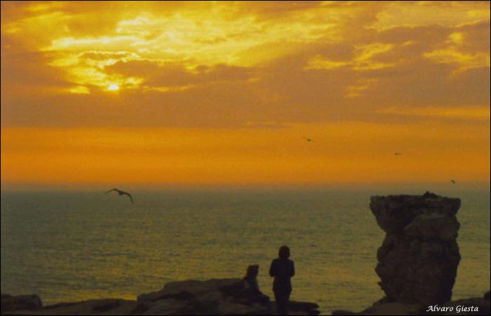"""фото """"Cores_05 - Peniche/Portugal"""" метки: пейзаж, вода, закат"""