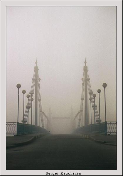 """фото """"Мост в никуда #2"""" метки: пейзаж, природа, осень"""