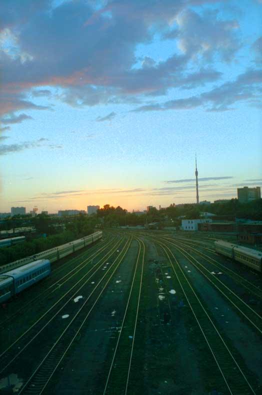 """фото """"Закат в городе"""" метки: архитектура, пейзаж, закат"""