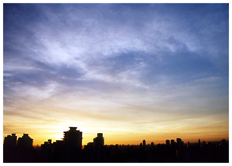 "photo ""Wake Up Sao Paulo #03 - Bigger and Uncutted"" tags: landscape, travel, South America, sunset"