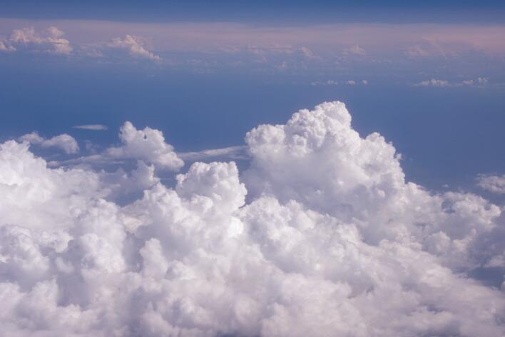 """фото """"Просто небо2"""" метки: пейзаж, абстракция, облака"""