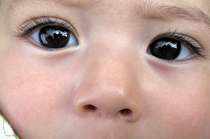 "photo ""The sight"" tags: portrait, children"