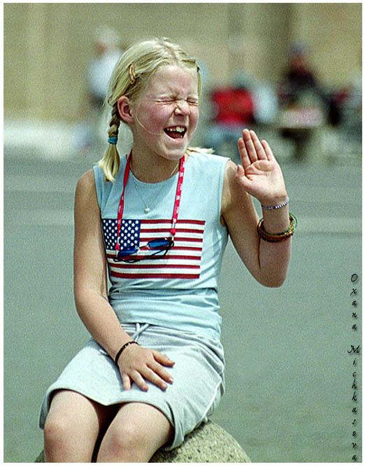 """фото """"Смешливая девчушка."""" метки: жанр, портрет, дети"""