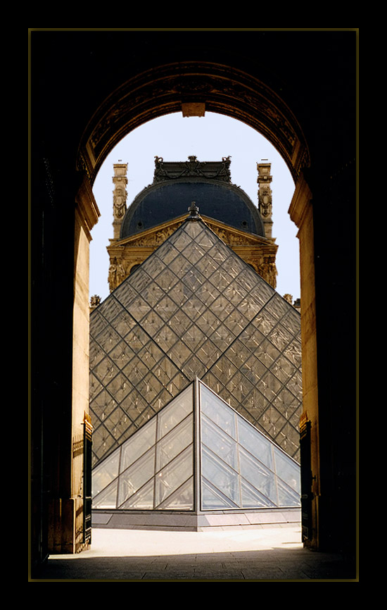 "photo ""Louvre Museum"" tags: travel, architecture, landscape, Europe"