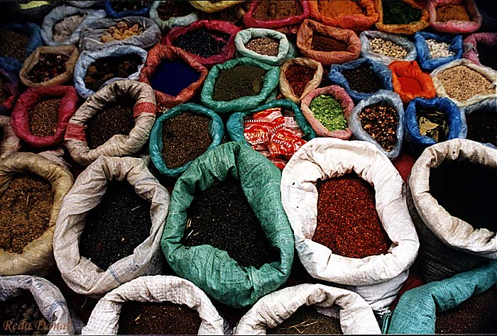 "photo ""Spices"" tags: travel, still life, Africa"