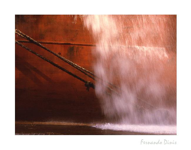 "фото ""Laudering on board"" метки: пейзаж, вода"