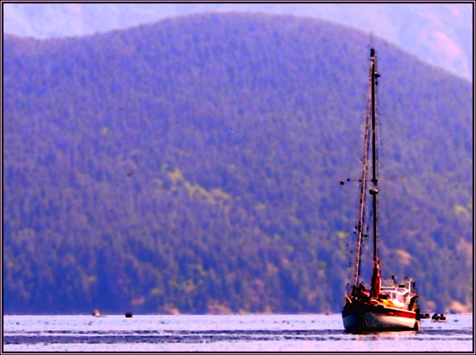 "photo ""Ship"" tags: montage, landscape, water"