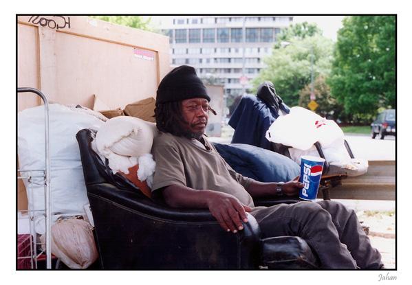 "photo ""Homeless#3"" tags: portrait, genre, man"