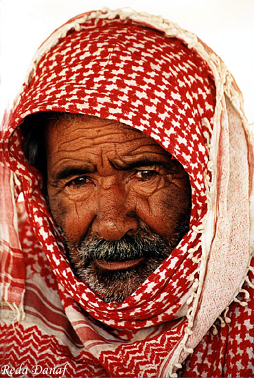 "photo ""Bedouin Man # 2"" tags: travel, portrait, Africa, man"