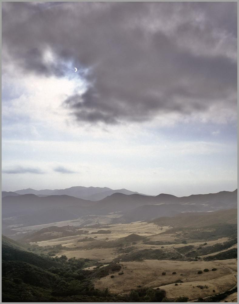 """photo """"June 10 Solar Eclipse"""" tags: landscape, sunset"""