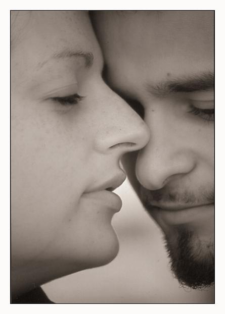 "photo ""Just a Gentle Photo"" tags: portrait, man, woman"