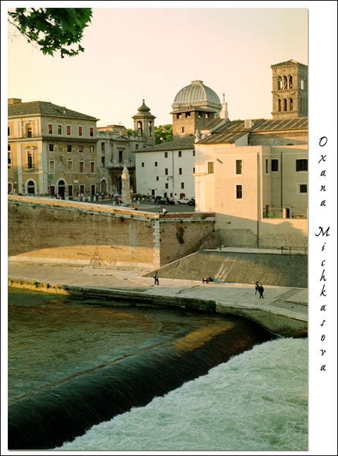 "фото ""Тибр. Рим."" метки: путешествия, жанр, Европа"
