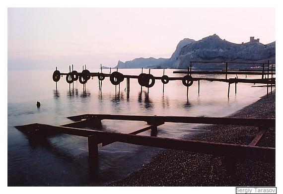 """фото """"Вечерняя..."""" метки: пейзаж, вода, горы"""