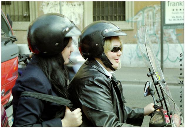 """фото """"Итальянские байкерши."""" метки: жанр, портрет, женщина"""