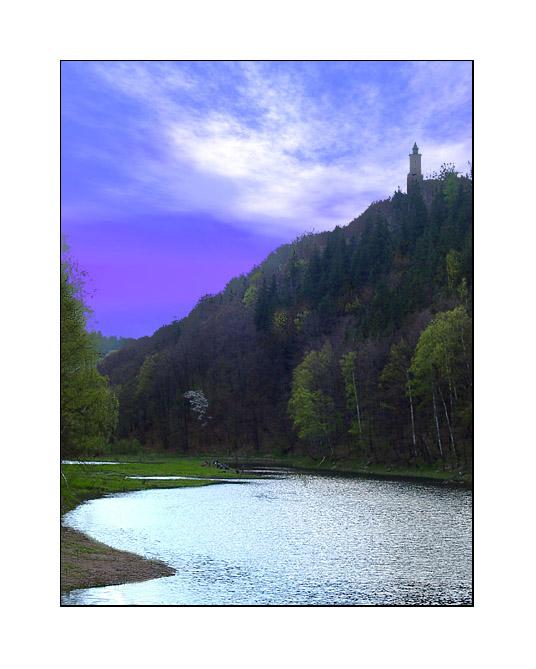 """фото """"Sunset at Zagorze Slaskie II"""" метки: пейзаж, весна"""