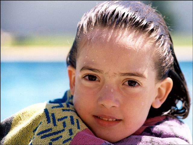 "photo ""Beatriz"" tags: portrait, children"