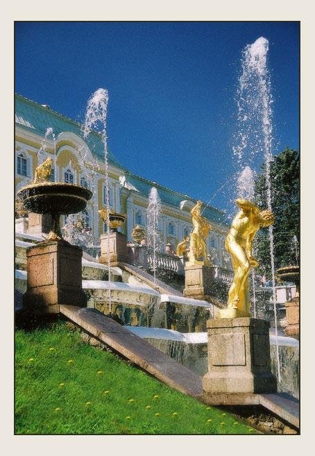 "фото ""Большой каскад."" метки: архитектура, путешествия, пейзаж, Европа"