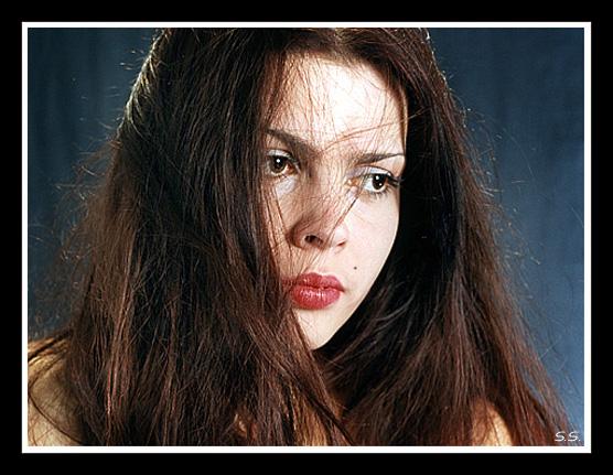 """фото """"Взгляд в ..."""" метки: портрет, женщина"""
