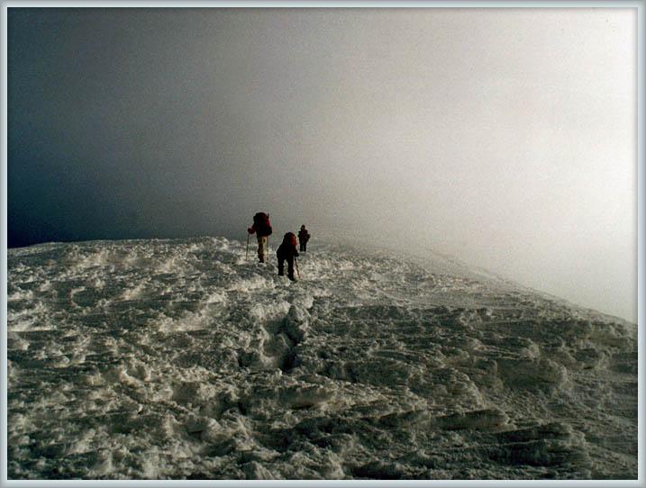 """фото """"Так где же начнётся небо ?"""" метки: пейзаж, горы, зима"""
