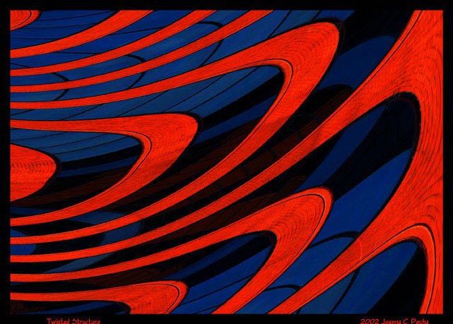 """фото """"Twisted Structure"""" метки: абстракция, фотомонтаж,"""