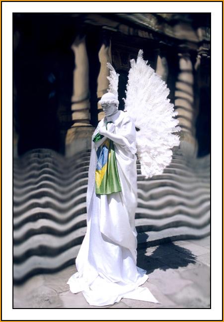"фото ""White Angel"" метки: фотомонтаж, портрет, мужчина"