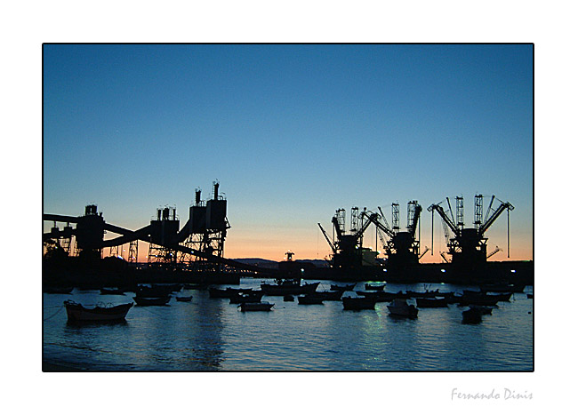 "photo ""Harbour"" tags: landscape, architecture, water"
