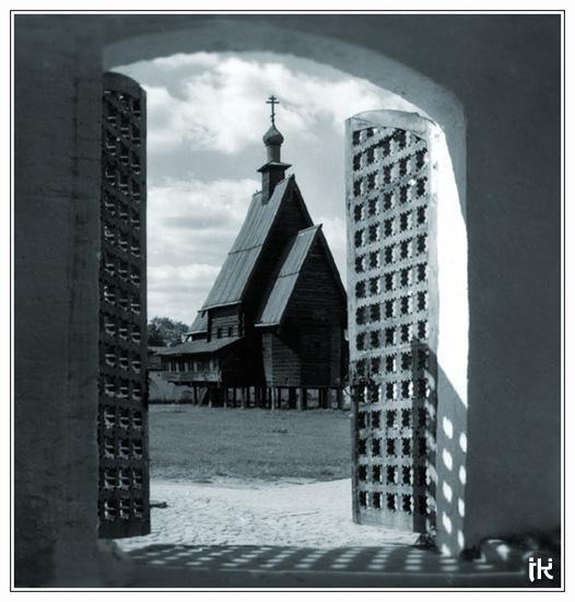 """фото """"Деревянная церковь"""" метки: путешествия, разное, Европа"""