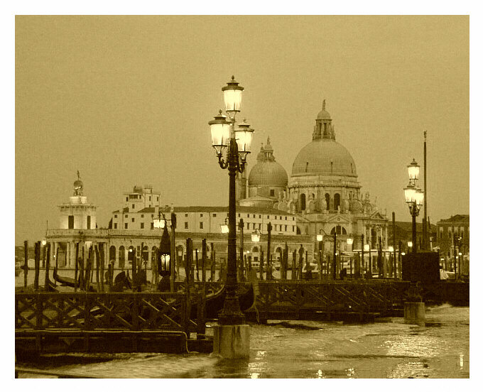"photo ""Santa Maria della Salute"" tags: travel, architecture, landscape, Europe"