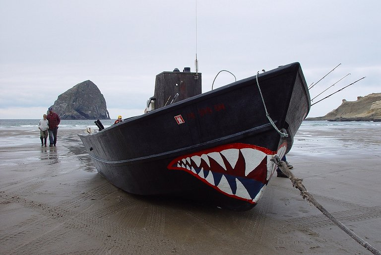 "photo ""Shark Boat"" tags: nature, landscape, water"