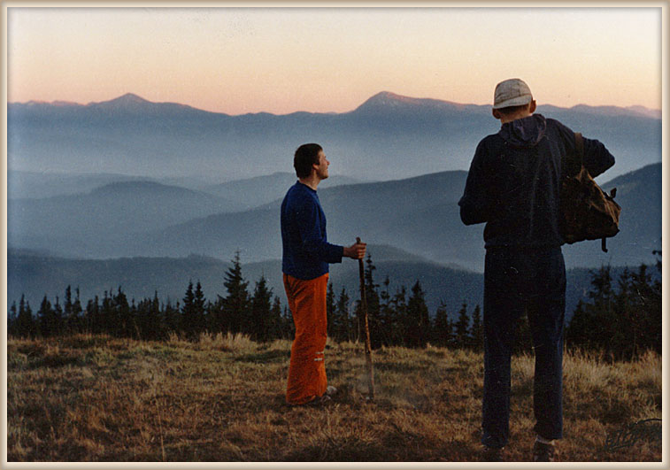 "photo ""Admiring country Galiciey (Ukraine)"" tags: landscape, mountains, summer"