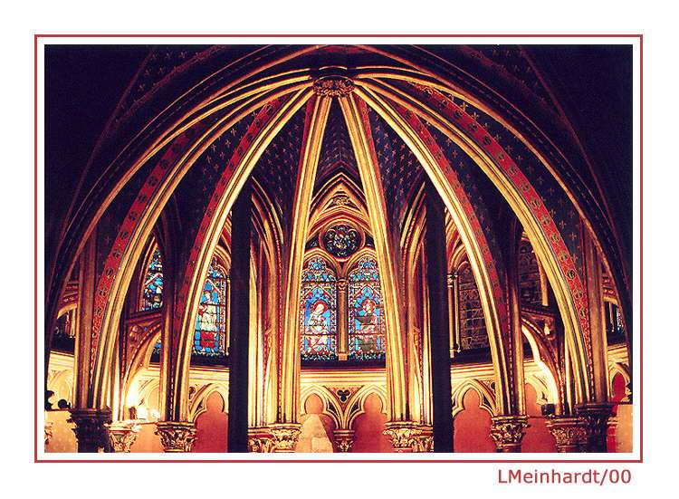 """фото """"Saint Chapelle"""" метки: путешествия, архитектура, пейзаж, Европа"""