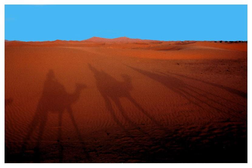"""фото """"On the way to Erg Chebi"""" метки: путешествия, Африка"""