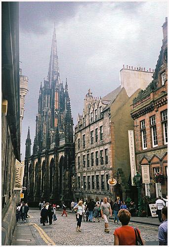 "photo ""Edimburg"" tags: architecture, landscape,"
