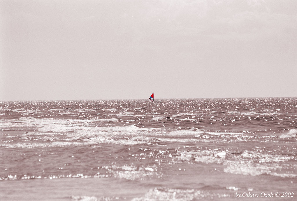 "photo ""Searching for a wind"" tags: montage, landscape, water"