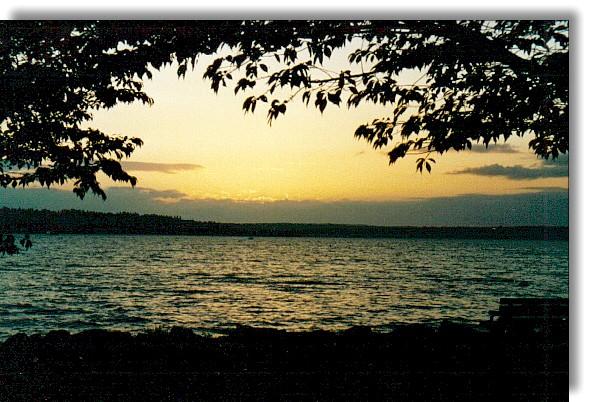 """фото """"Добрый вечер."""" метки: пейзаж, ночь"""