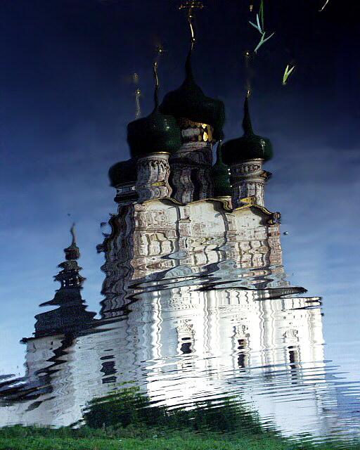 """фото """"Православные отражения"""" метки: путешествия, пейзаж, Европа, вода"""