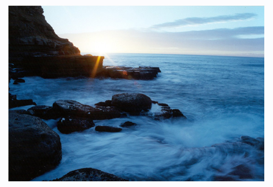 "photo ""North Avoca"" tags: landscape, travel, Australia, sunset"