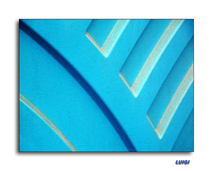 """photo """"Blue Design"""" tags: abstract, macro and close-up,"""