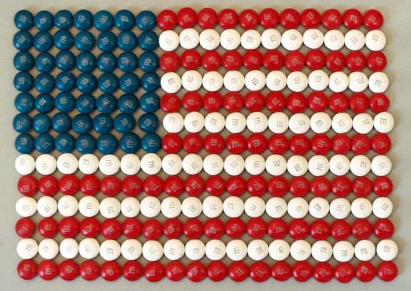 """фото """"M & M flag"""" метки: абстракция, натюрморт,"""