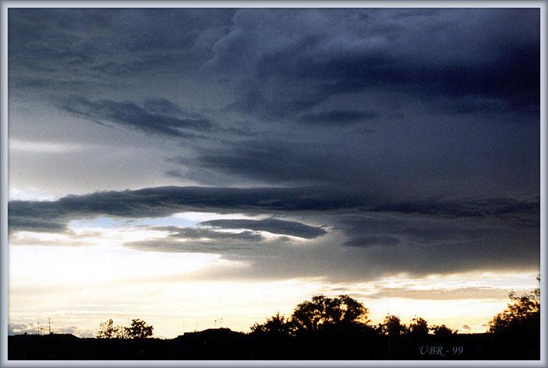 """фото """"Синий закат"""" метки: пейзаж, закат, облака"""