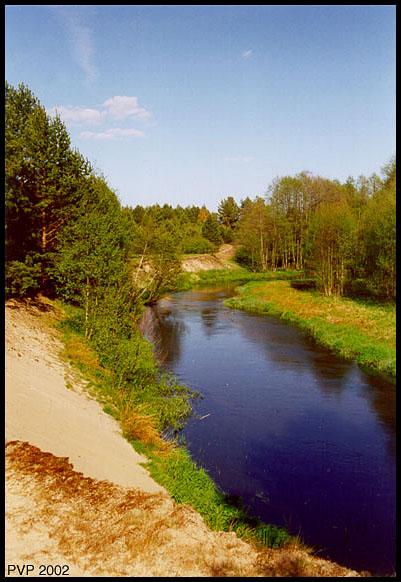 "photo ""River"" tags: landscape, summer, water"