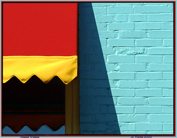 "photo ""Shaded Window"" tags: abstract, still life,"