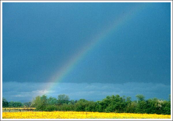 "photo ""Rainbow"" tags: landscape, spring"